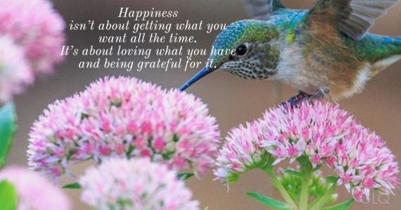 happiness F